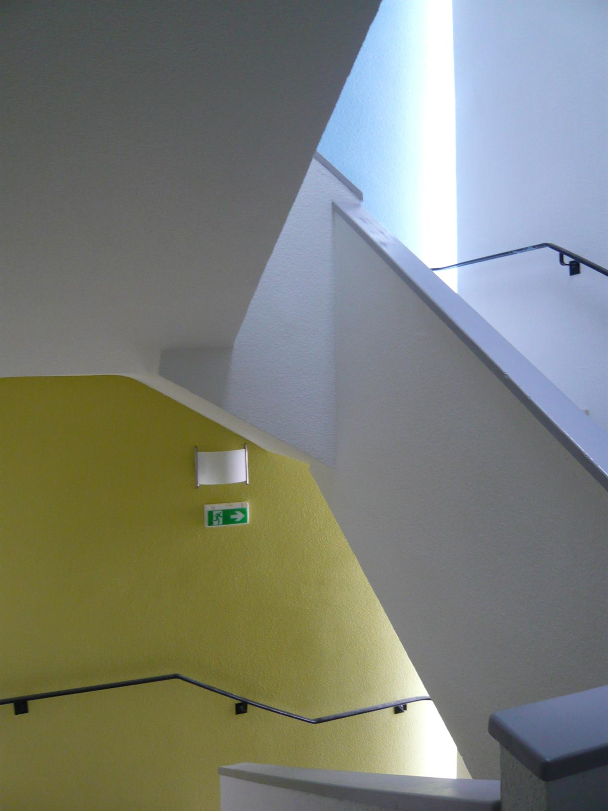Escalier Etablissement MRS Le Cendre Gonin Architectes