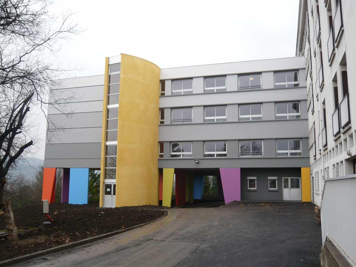 Petit nord Etablissement MRS Le Cendre Gonin Architectes