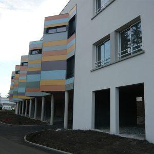 Détail facade CMI Romagnat
