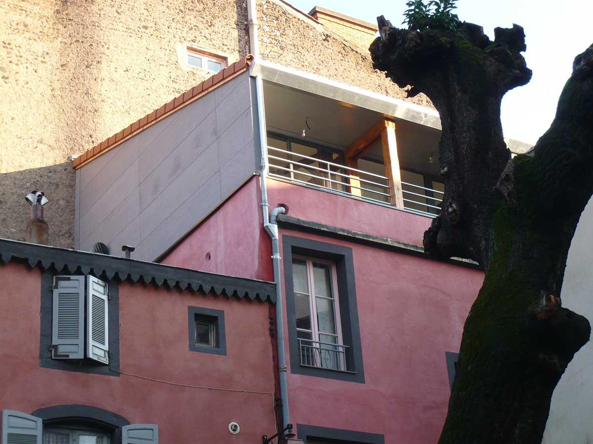 terrasse Surrélévation maison DD Clermont Ferrand