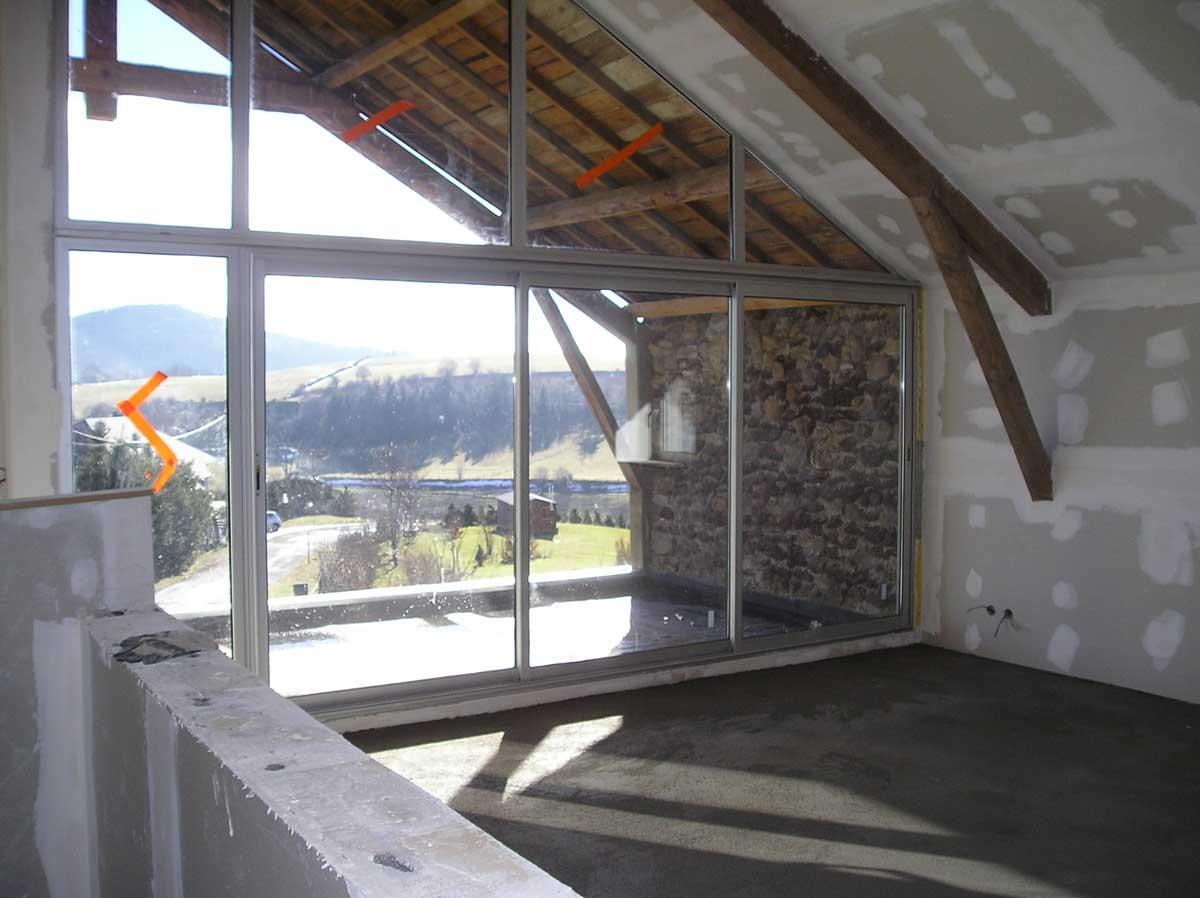 Intérieur vue panoramique Maison d'Espinasse