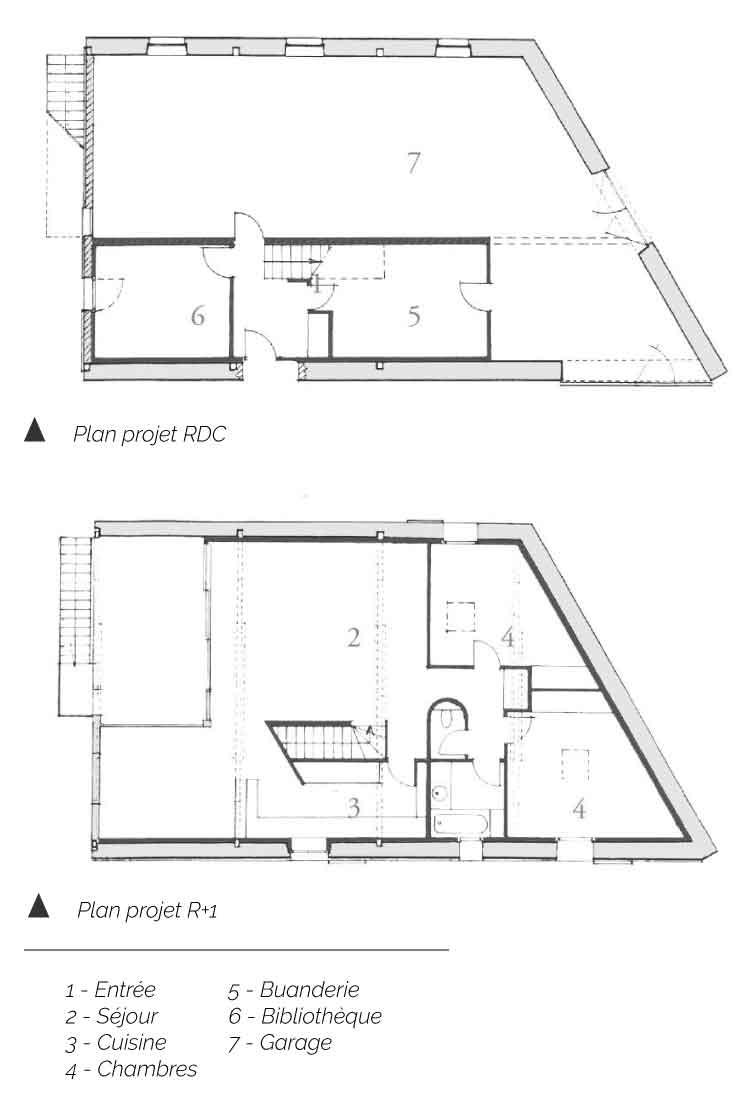 Plan Maison d'Espinasse