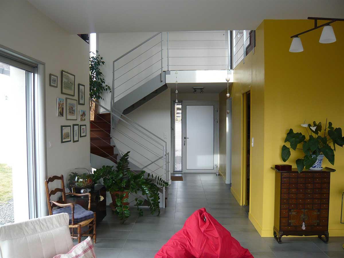 Entrée maison Clermont Ferrand