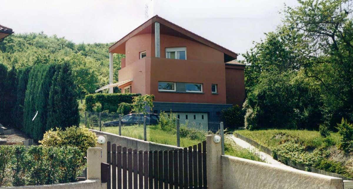 Panorama de la maison de Cébazat