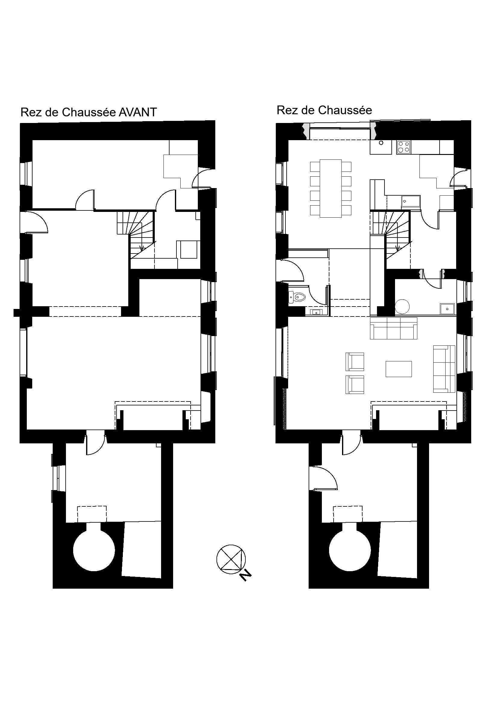 Plan de la maison