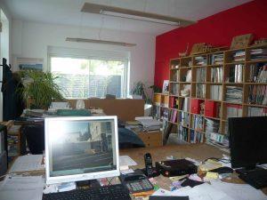 Vue de l'intérieur de l'agence de Gonin Architectes à Clermont Ferrand en Auvergne