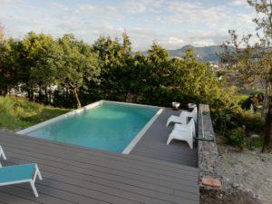 Aménagement du jardin et de la piscine