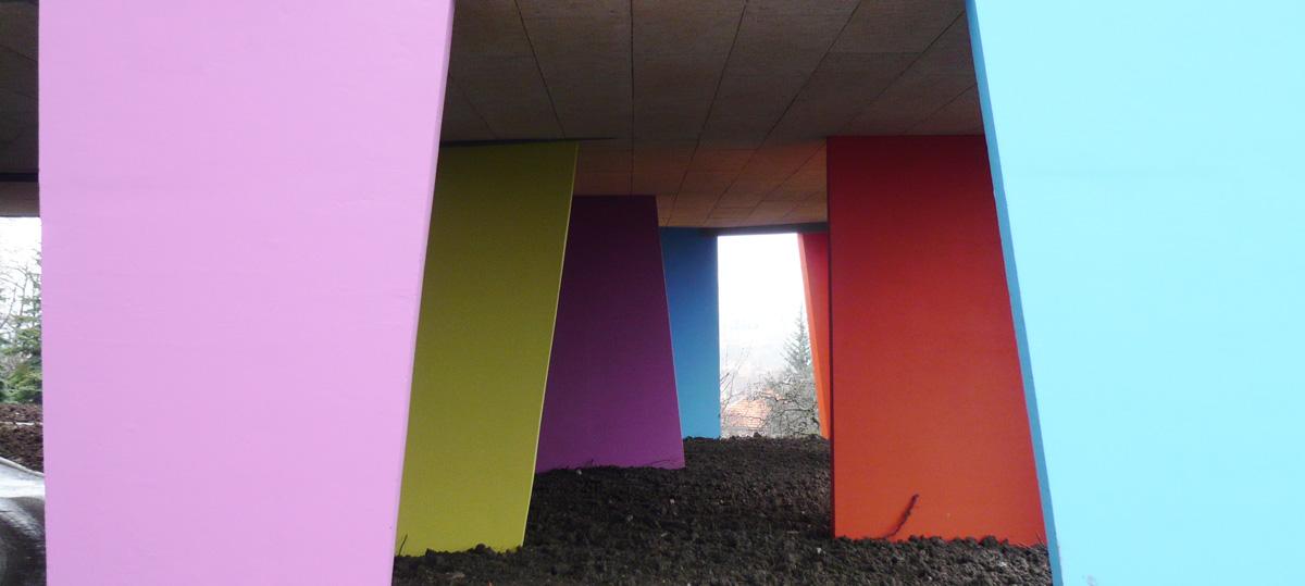 Détail architectural Etablissement MRS Le Cendre Gonin Architectes