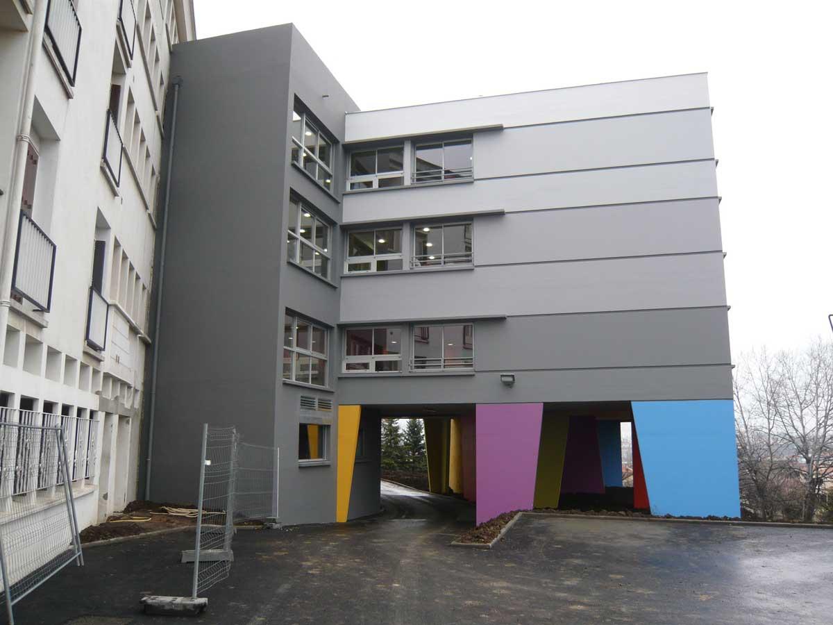Petit sud Etablissement MRS Le Cendre Gonin Architectes