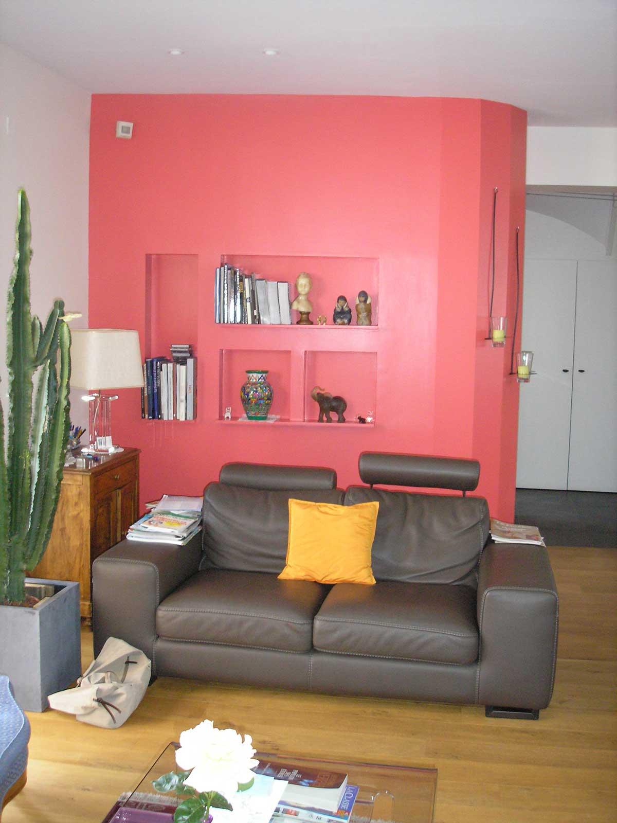 Salon extension de la maison BO