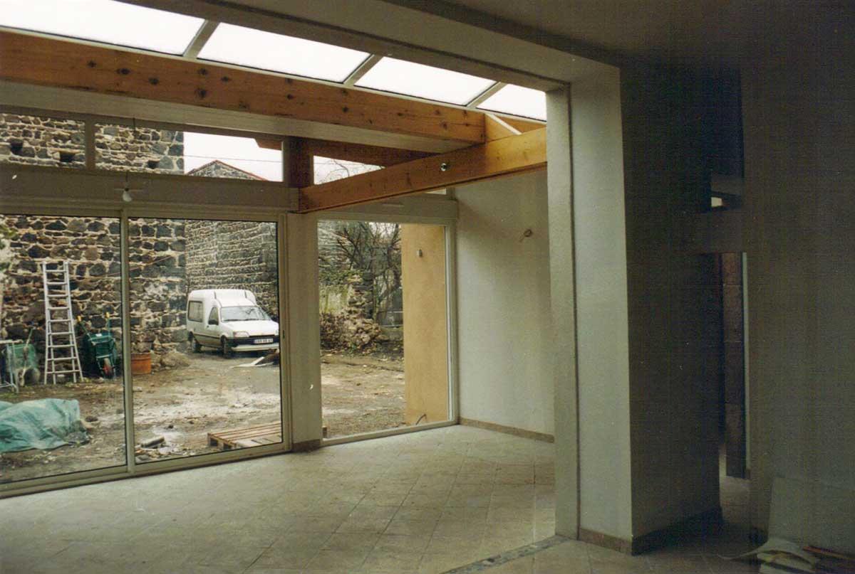 Intérieur Maison CH à Neschers