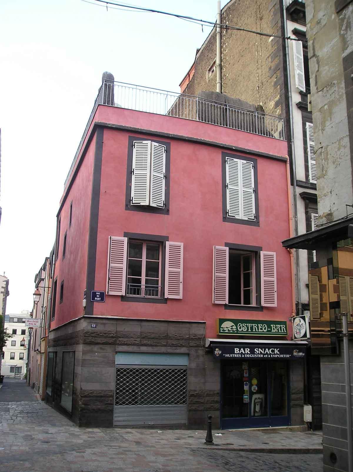 Avant surrélévation maison DD Clermont Ferrand