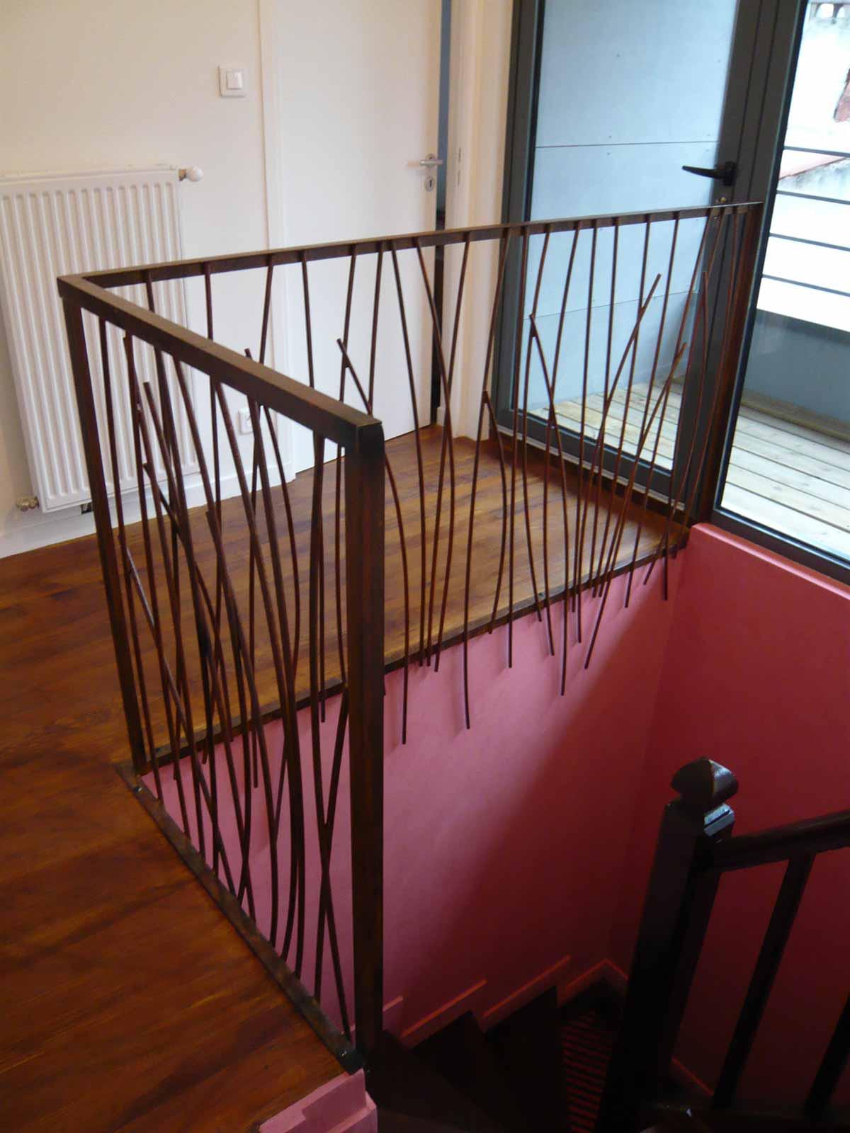 Escalier surrélévation maison DD Clermont Ferrand