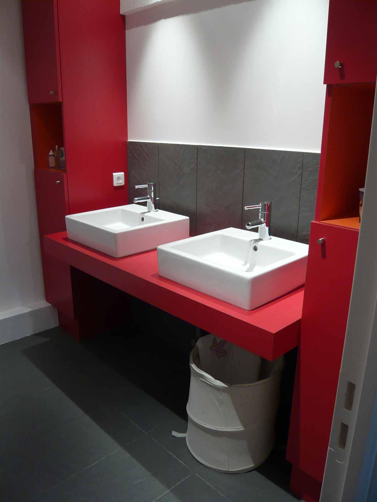 Salle de bain Surrélévation maison DD Clermont Ferrand