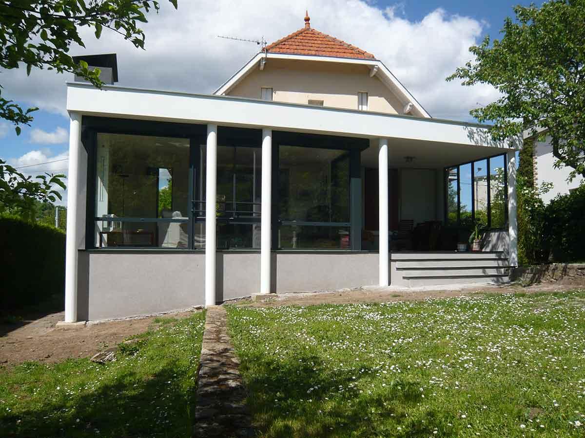 Extérieur extension Maison MAD Royat