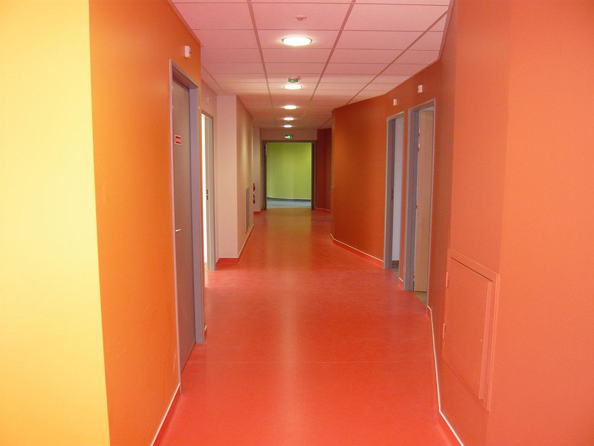 Couloir du Foyer Occupationnelle du CMA