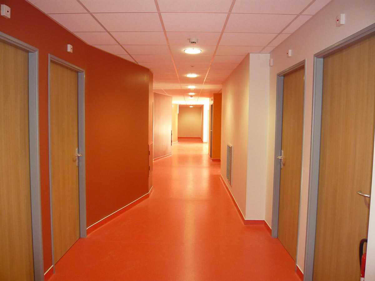 Couloir orange