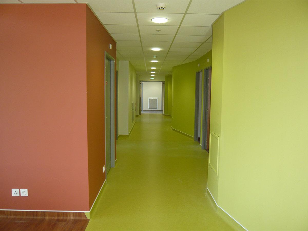 Couloir Vert du Foyer Occupationnel CMA