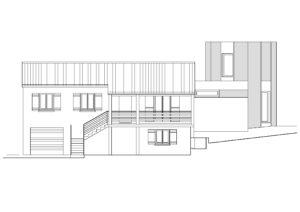 Plan de la façade