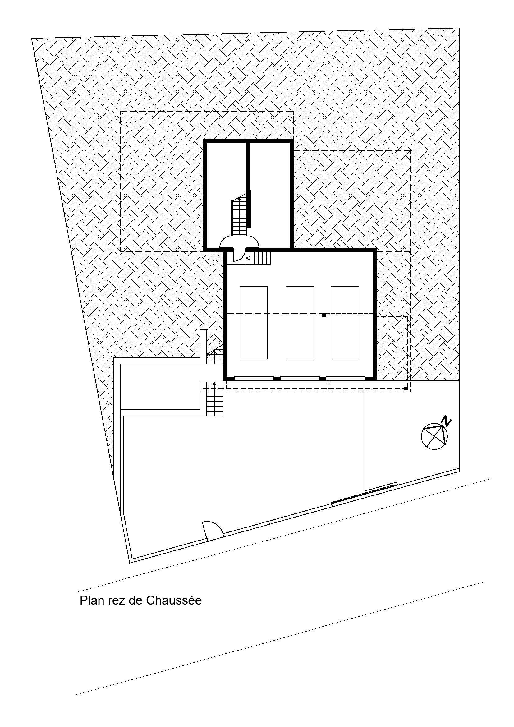 Plan du rez de chaussée